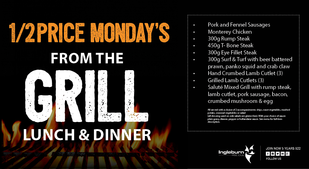 From_the_Grill_Monday IRSL