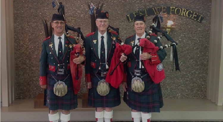 Ingleburn RSL | Affiliated Groups | Pipe Band