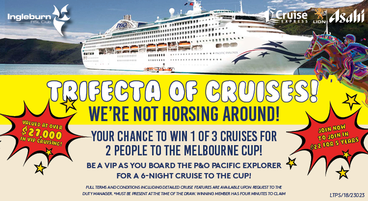 TRIFECTA OF CRUISES!!!