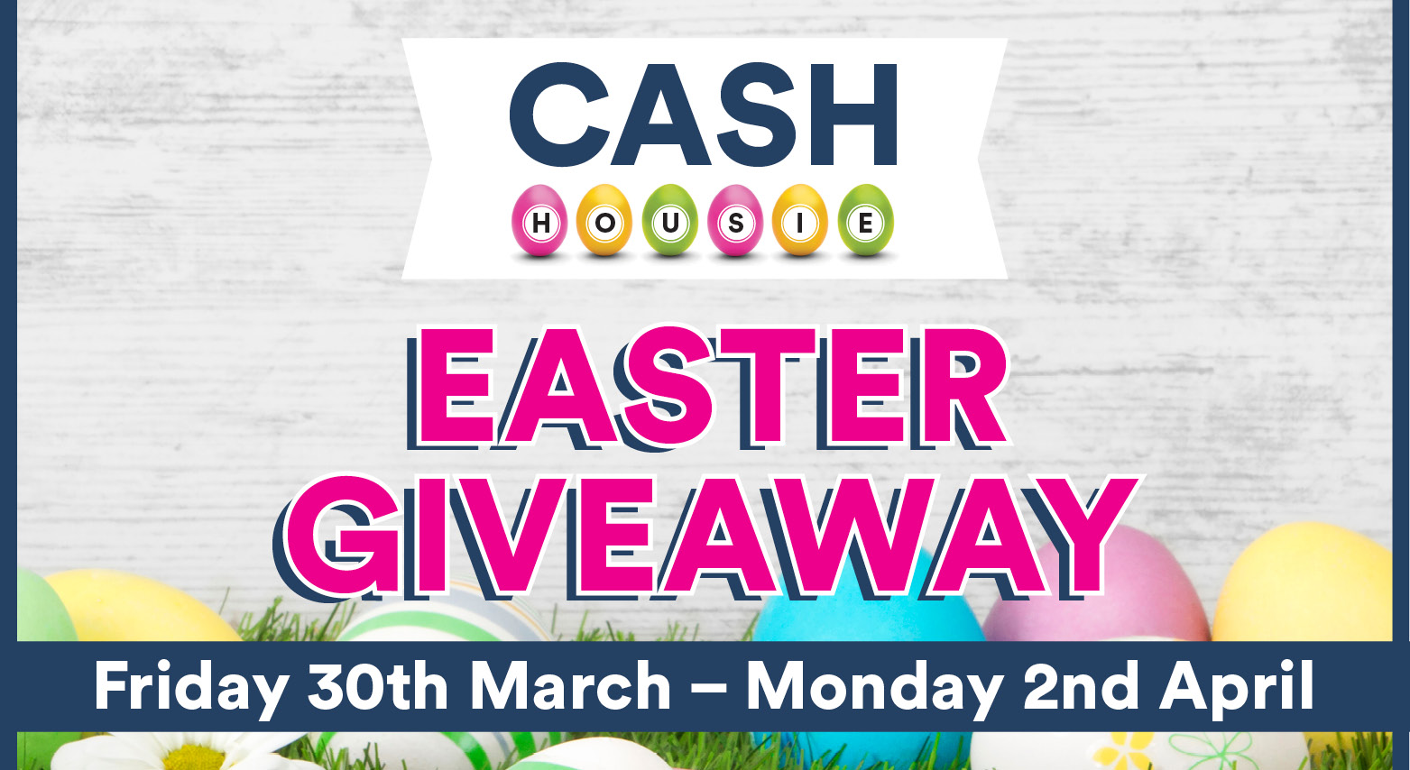 HOUSIE EASTER GIVEAWAY