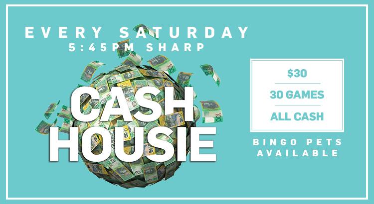Saturday Cash Housie